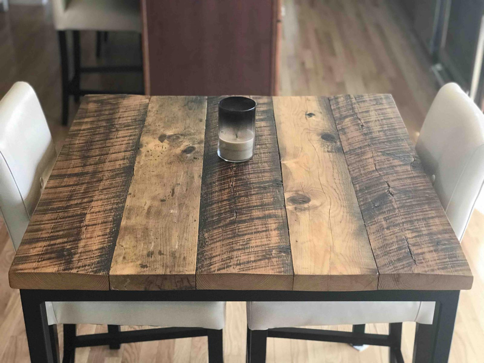 reclaimed pub table